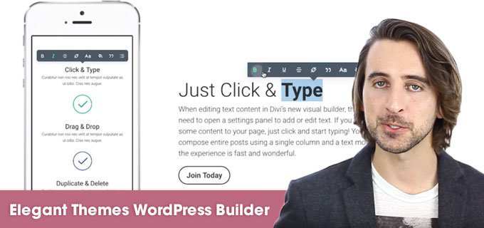 ElegantThemes WordPress builder
