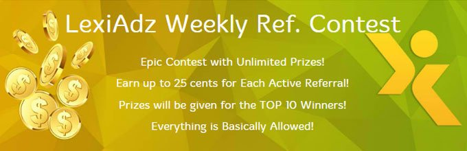 Lexiadz - Referral Contest