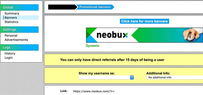 Neobux Direct Referral Link
